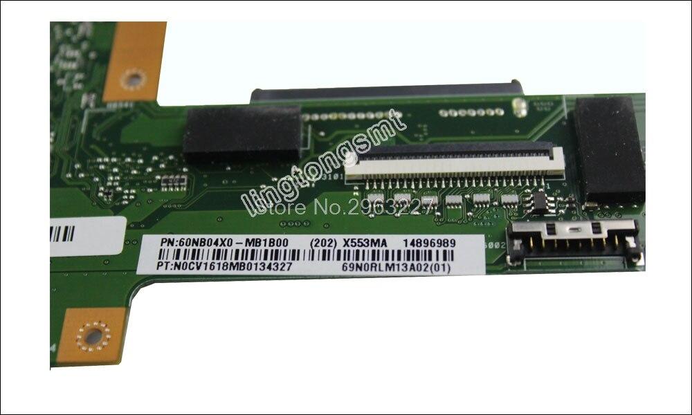 Интернет магазин товары для всей семьи HTB1LZJdvN1YBuNjy1zcq6zNcXXaH X553MA материнской N3530 N3540 для ASUS A553M D553M F553M K553M X503M Материнская плата ноутбука X553MA плата X553MA материнская плата