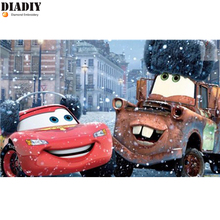 5D Diamond Painting Cartoon Crystals Rhinestone Needlework Embroidery Beads car Mater Kits Handmade Painting By Numbers