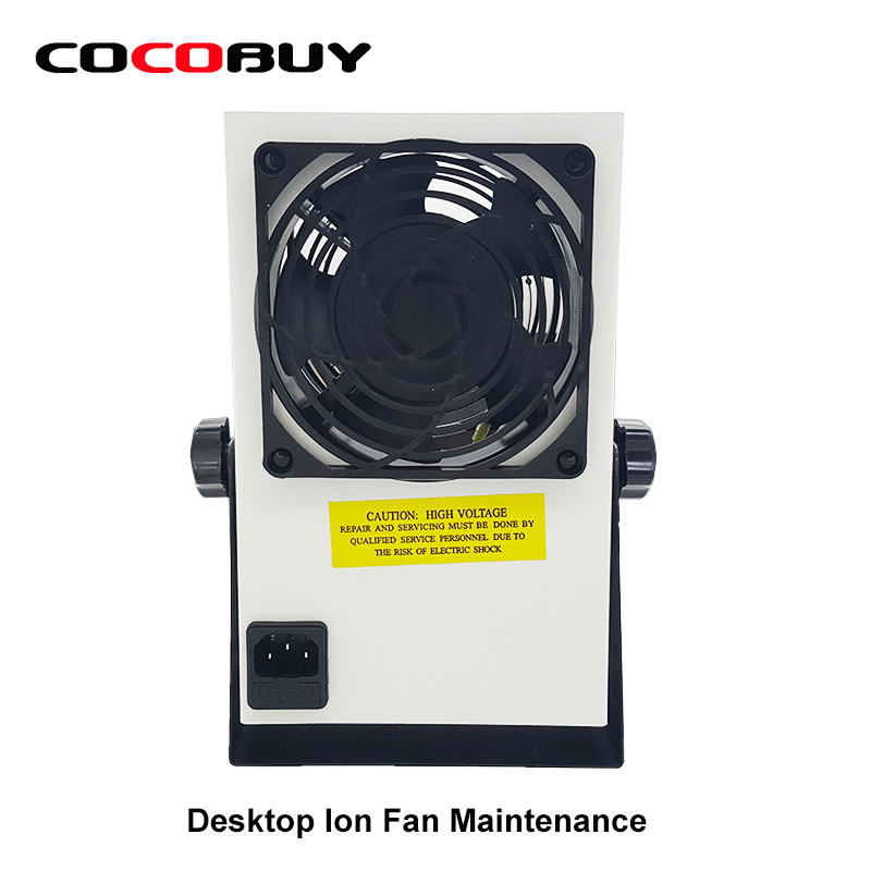 NOVECEL Desktop Ion Fan Maintenance Dedicated Fan Ionizing Air Blower with UK Plug Cable<br>