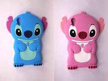High Quality For HTC Desire 820 D820 Case New Style 3D Cartoon Cute Blue Pink Stitch Shape Soft Silicon Back Phone Housing Cover