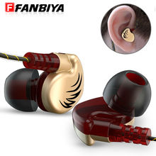 FANBIYA Sport Earphone Headphone HiFi Stereo Bass Mp3 MP4 player Music Headset with Microphone Hands free Micro Earpiece Earbuds