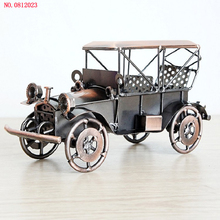 New arrival Iron vintage car model NO.0812023 Creative ornaments Vehicle model metal handicrafts Hand made Arts and Crafts(China)