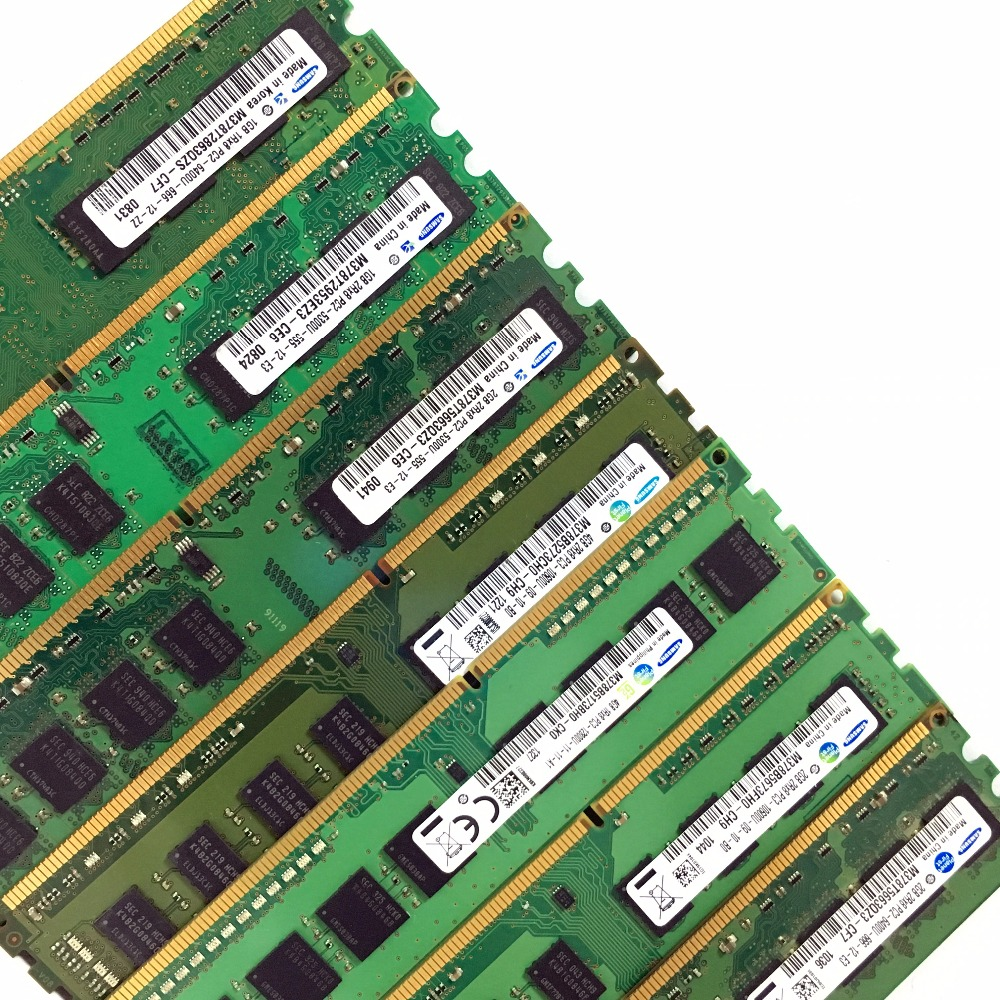 NEW Samsung 4GB 2rx8 pc2-6400u-666-12-e3 M378T5663QZ3-CF7 4 GB Module
