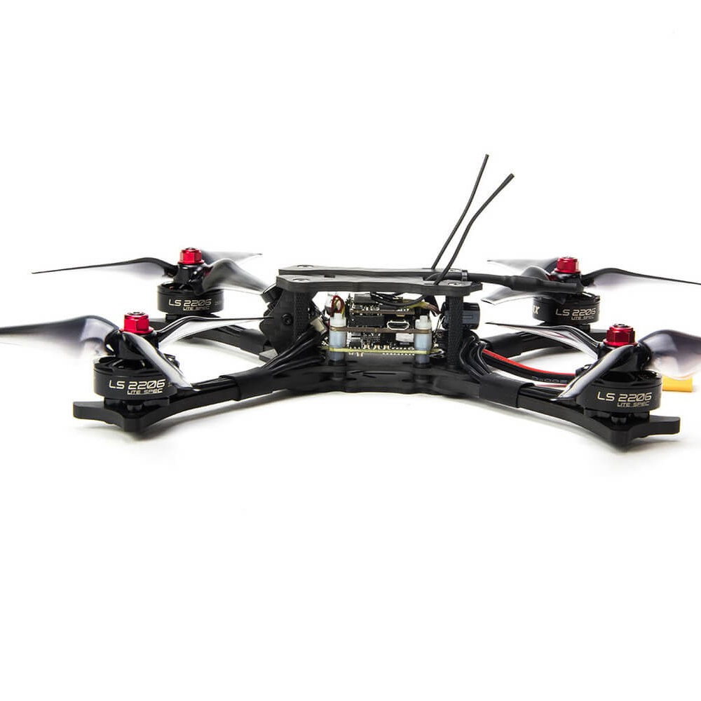 Emax Racing Drone Hawk 5 5.8G 600TVL F4 FC 210mm Brushless FPV Racing RC Quadcopter w Frsky Receiver BNF PNP Version RC Drone 7