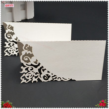 50Pcs Laser Cut Personalised/Tableware/Seating Decor Table Name Place Cards Wedding Place Name Cards Wedding Supplies 7ZSH870(China)