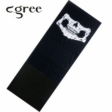 C.gree 2017 Winter Autumn Newest Design Bandana Printing Winter Scarf Tube Cycling Neck Warmer Multi Function Polar Reversible