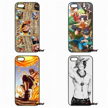 For Motorola Moto E E2 E3 G G2 G3 G4 PLUS X2 Play Style Blackberry Q10 Z10 One piece Portgas D Ace Fire Hard Phone Case Cover