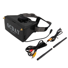 1pcs 5.8G Dual Receiver FPV 3D Video Glasses Viewer Handset Video Virtual Display