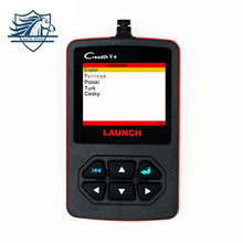 [LAUNCH Distributor] Original Launch Creader V+ OBD2 code Reader scanner CReader V Plus OBDII diagnostic tool Update Free online