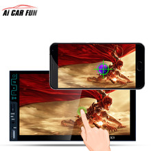 7-inch Ultra-thin Quad-core Android 5.1 Bluetooth HD MP5 Player AM/FM/RDS Radio Tuner 3G Wifi Connect GPS Navigation Mirror Link()