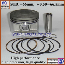 QZ industrial new and high quality for SUZUKI 200cc Motorcycle DR200 QM200 QS200 GS200 GXT200 QM200GY piston and rings kit