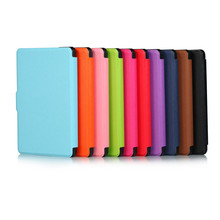 100Pcs/Lot All-New PU Leather Case Smart Cover for Amazon New Kindle 2016 Version (Kindle 8th Generation) Ebook + DHL Shipping