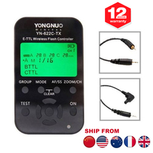 Yongnuo YN-622C  YN 622C TX LCD Wireless TTL Flash Receiver Transceiver 1/8000s Controller Trigger for Canon 1100D 650D 600D