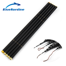 BlueSardine Carp Fishing Rod Carbon Stream Hand Pole Telescopic Fishing Tackle  4.5M 5.4M 6.3M 7.2M 8M