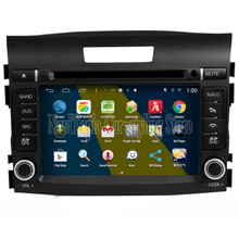 NaviTopia Brand New 7inch Quad Core 1024*600 Android Car PC for Honda New CR-V 16GB Flash Car DVD Multimedia Player(China)