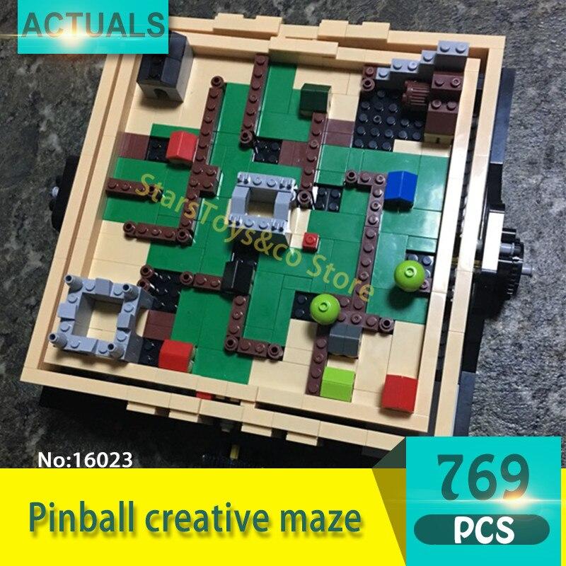 Lepin 16023 769Pcs Creative series Pinball creative maze Model Building Blocks Set  Bricks Toys For Children Gift<br>