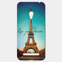For ASUS Zenfone 5 6 4 A450CG 3 Max ZC520TL 2 Laser ze551ml ze500cl Selfie ZD551KL Patterned Cover live your dream phone cases