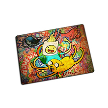 Adventure Time mouse pad  Graffiti game pad to mouse notebook computer mouse mat brand gaming mousepad gamer laptop