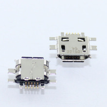 100X 5pin Mobile Phone Mini Micro USB Jack USB Connector socket for Nokia N97 E52 E55 N8 /BBK/VIVO V1 Y1 s3 E1 E3 S12