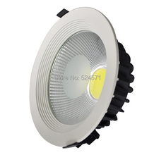 "wholesale Super bright AC85-265V/7"" 8""/ 20w 30w / LED COB Ceiling Light Cool/Warm White LED Down Light free shipping"