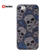 NetDot Capinha for iPhone SE 5 5s Case Skeleton Cover For iPhone 6s plus Cases Phone Back Shell For iPhone 7 8plus fundas coque(China)