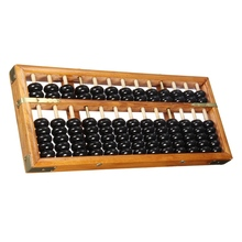 Chinese Ancient Abacus Soroban Beads Column Kid School Learning Tool Math Business Chinese Traditional abacus Educational toys(China)