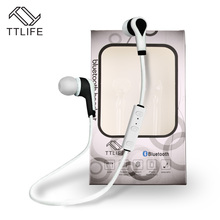 Buy 2 Get 1 $ Down ! TTLIFE Wireless Bluetooth Headset Sport In-Ear Handsfree with Mic Earphone MP3 Player for Xiaomi All Phones(China)