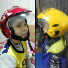 High quality kids motorcycle helmet child kids helmet girl boy warm security white blue red free shipping(China)
