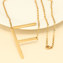 Minimalist Name Necklace Choker Chain B C D E F Alphabet Personalized Women Jewelry Bridesmaid Gift Gold Color Letter Necklace(China)