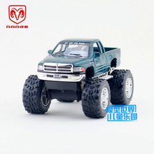 Free Shipping/KiNSMART Toy/Diecast Model/1:44 Scale/Dodge Ram Off Road Pickup Truck/Pull Back Car/Educational Collection/Gift(China)