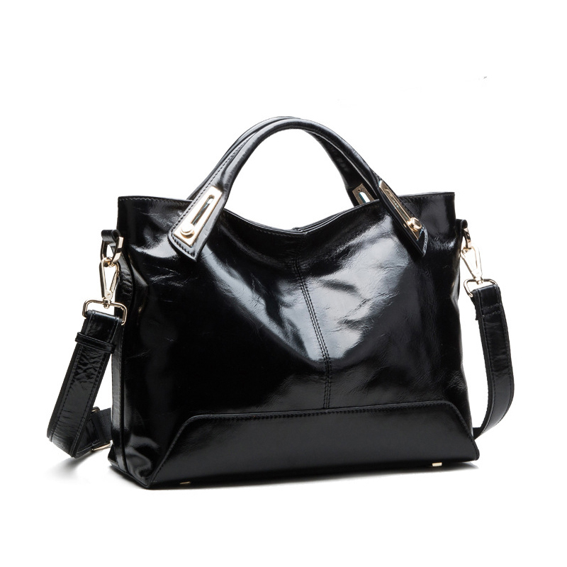 Bag female 2017 designer handbags high quality oil wax leather handbag women messenger bag sac a main sac femme dames tassen<br>