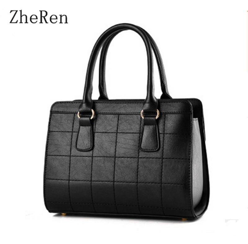 The new spring and summer 2017 Fashion Bag Satchel Bag Shoulder Bag Handbag all-match Ms.<br><br>Aliexpress