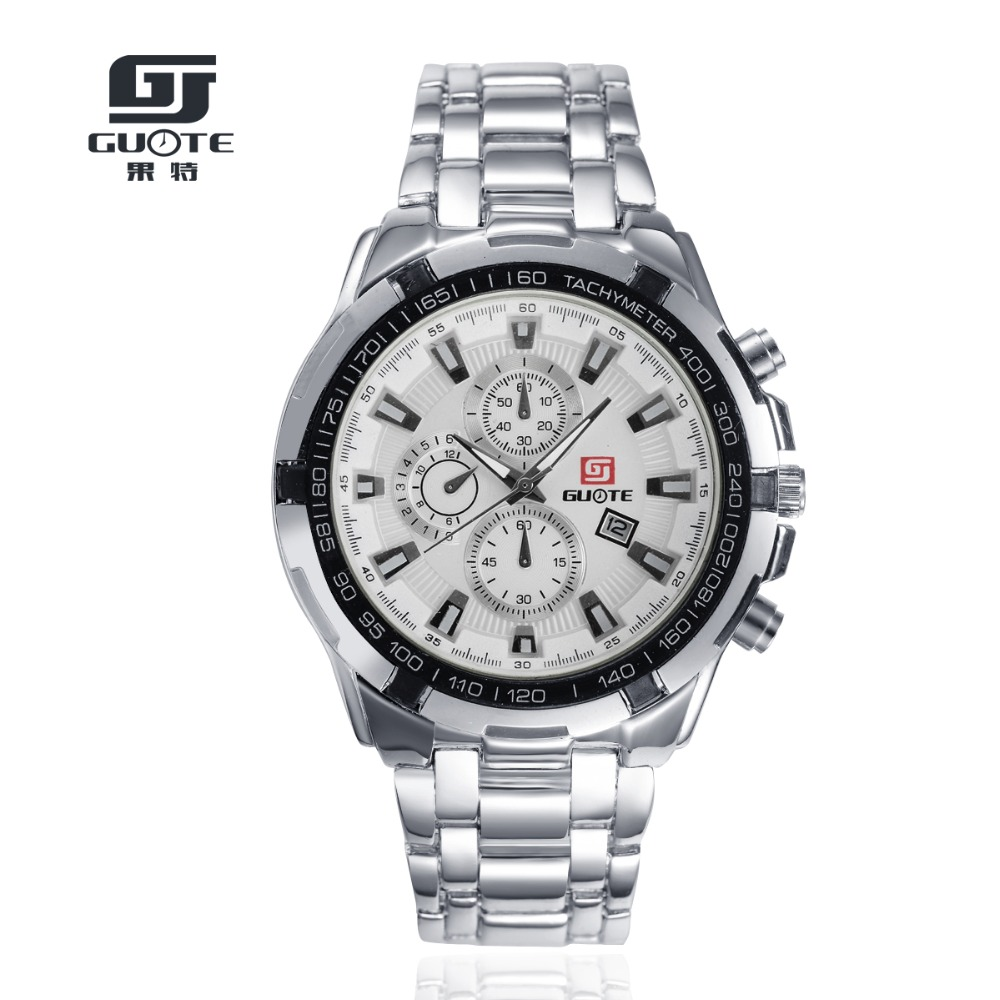 GUOTE Luxury Brand Analog sports Wristwatch Display Date Mens Quartz Watch Business Watch Men Watch relogio masculino G44<br><br>Aliexpress