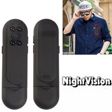 Night Vision Mini Camera 1080P Body Motion Sensor Camcorder Ultra Small Cam Security Monitor DV DVR Video Recorder with Voice(China)