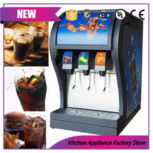 CE certified coke post mix soda fountain dispenser soda drinks dispensing machine with 3 pumps(China)