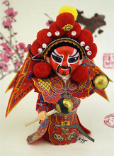 Decoration Arts crafts girl gifts get married The Q version of the Opera Peking Opera dolls Jushi interior decorations doll orna(China)