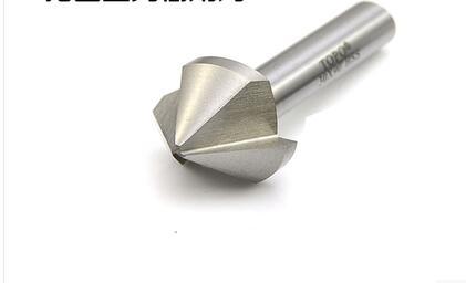1PC 50*52 mm Three blades 90 degree chamfer drill countersink drill drilling and chamfering device aluminium metal plate taper<br>