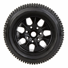 Buy 2Pcs RC 1/8 Truck Car Wheel Rim Tire 810011 fr Traxxas HSP Tamiya HPI RC Car for $17.31 in AliExpress store