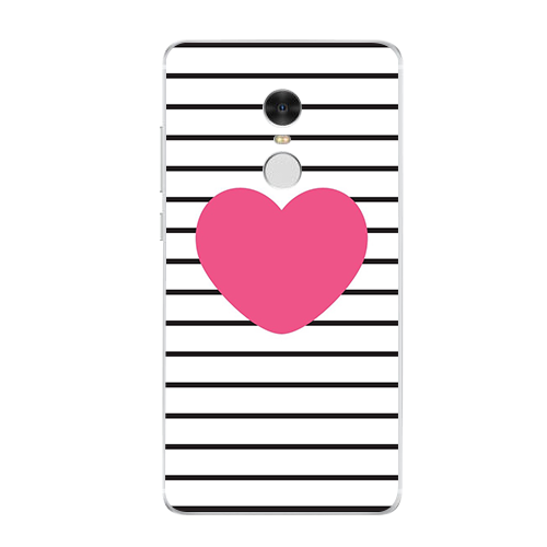 Love Icon Phone Case For Xiaomi Redmi 3 3S 4A 4X 4 4S Note 3 Note 4 4X 5A Case Back cover
