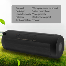 Original Outdoor Sports Super BASS T2 Waterproof Cycling Bluetooth Speaker wireless Hi-Fi MINi for cell phone /Iphone /Samsung(China)