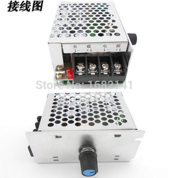 DC 9V to 60V 20A DC Motor Controller Stepless Speed Voltage Regulation PWM DC Motor Speed Controller 12V 24V 36V 48V 60V 600W<br>