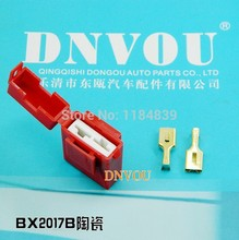 5pcs BX2017B/ ceramic / car insurance insurance socket / fuse holder / car insurance(China)