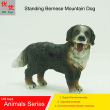 Hot toys:Standing Bernese Mountain Dog simulation model  Animals   kids  toys children educational props