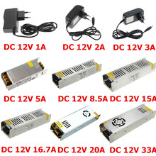 LED Driver 12V 1A 2A 3A 5A 8.5A 15A 16.7A 20A 30A Power Supply AC 220V to DC 12V Voltage Transformer Adapter For LED Strip Light