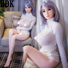 163cm Real Silicone  Sex   Doll  For Men Asian