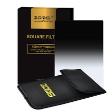 Zomei Gradual Grey ND8 ND16 ND4 ND2 Square Z-PRO Series Filter Graduated Color Filters for Cokin Z Hitech 4X6 Holder 150*100mm(China)