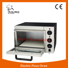 KOUWO One Deck Commercial Electric Stainless Steel Pizza Oven Pizza Baking Machine KW-1AT(China)