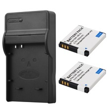 2x NB-8L Battery NB8L 8L Camera Batteries with Charger  For Canon PowerShot A3300 A3200 A3100 A3000 A2200 A1200 IS