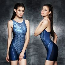 2017 Sexy One Piece Women Swimwear Professional Plus Size Competition Swimsuit Sports Body Suit Brand High Quality Bathing Suit(China)