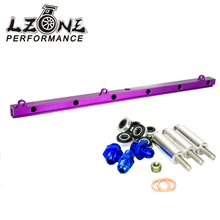 LZONE RACING - NEW Fuel Rail For Toyota Soarer Chaser Supra 1JZGTE 1JZ-GTE Turbo Fuel Rail Injectors delivery JR5444P